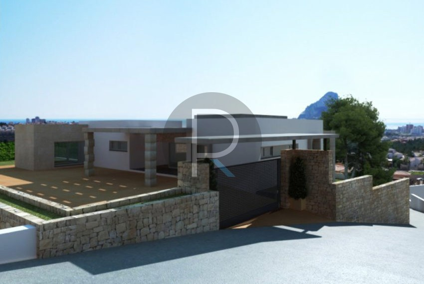 new-modern-villa-in-calpe-enrance