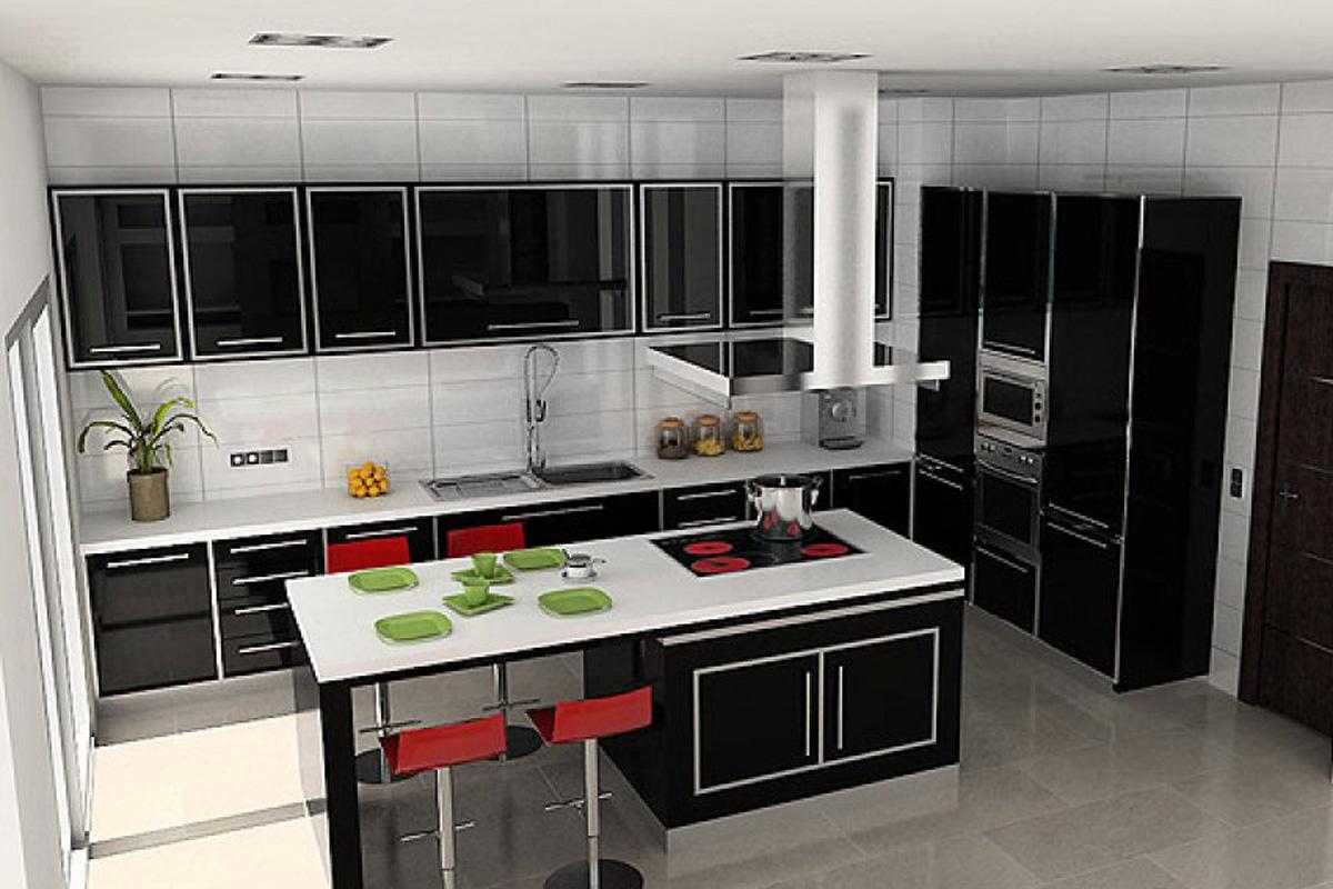 Very moder villa benissa for sale kitchen