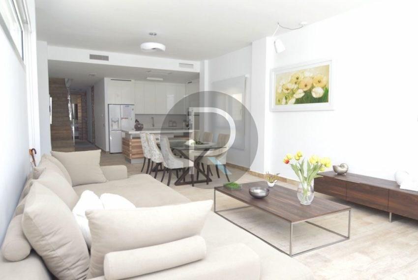 60 m2 Living room Villa Espica01