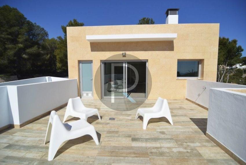 Solarium terrace 70 m2 Villa Espica02