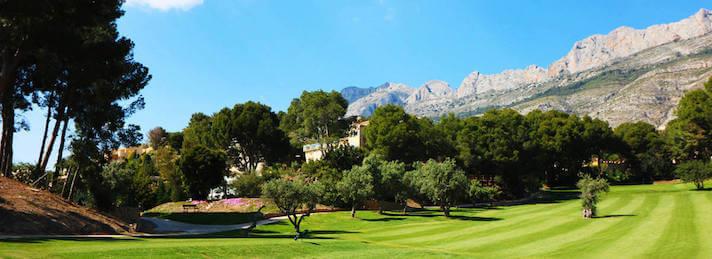 Golfplatz Altea la Vella