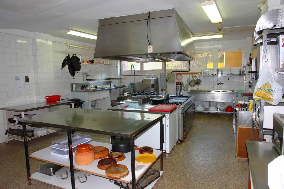Hotel in moraira costa blanca kitchen
