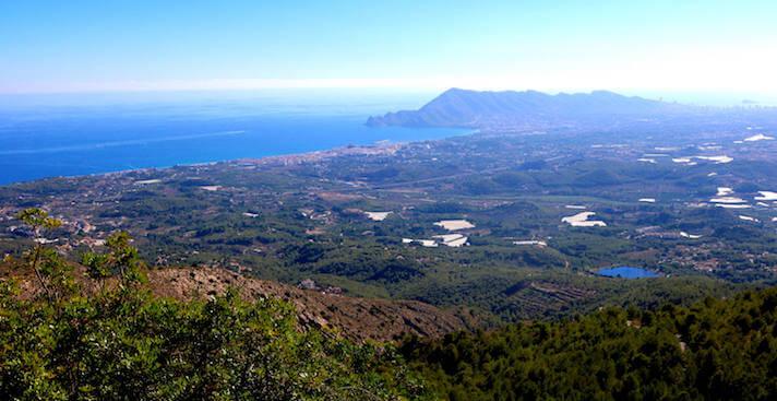 Overview of Altea la Vella