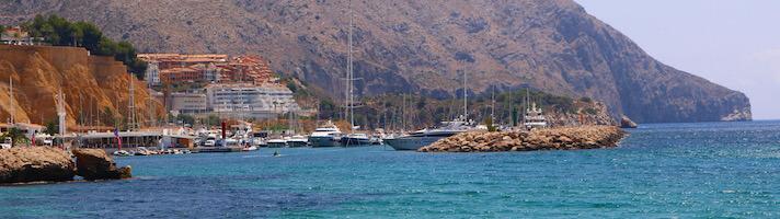 Hafen an der Costa Blanca