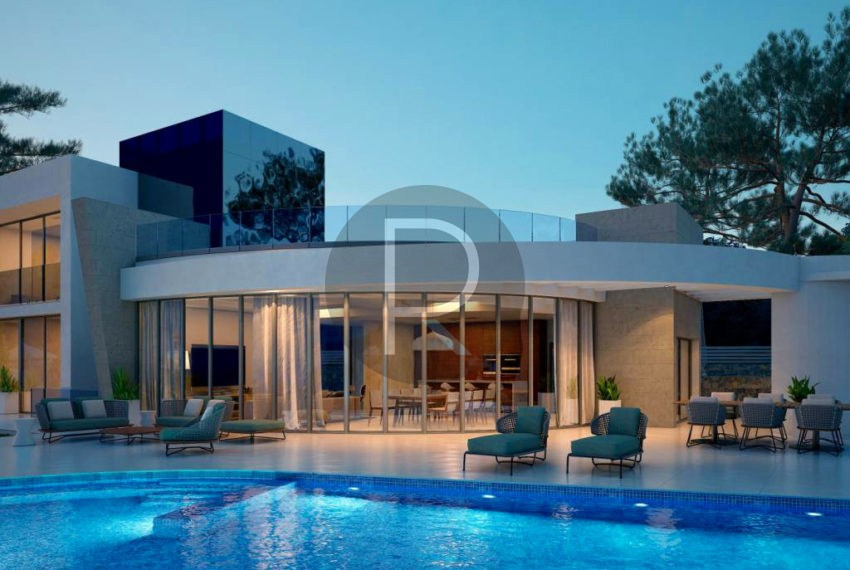 new-moder-villa-in-javea-by-night