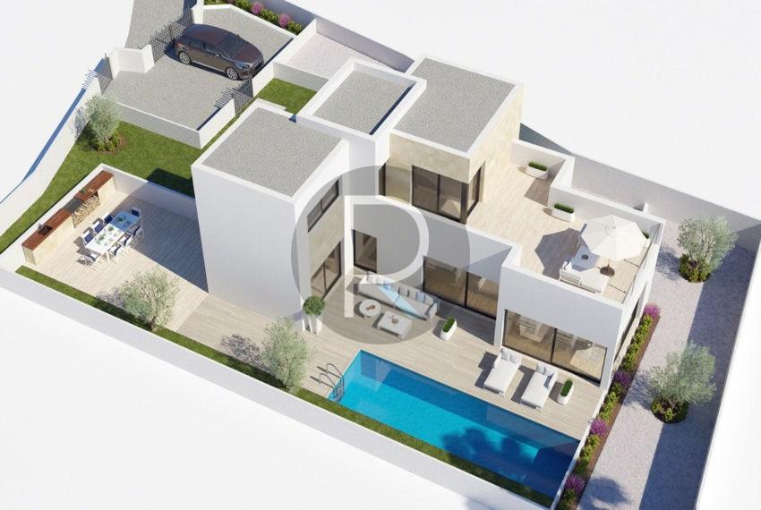 Villa Hydra Plano 3d